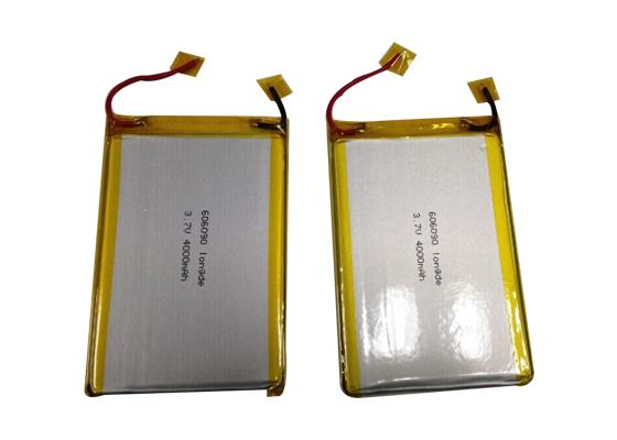 3.7v 606090 4000mah Lithium Polymer Battery For Power Bank