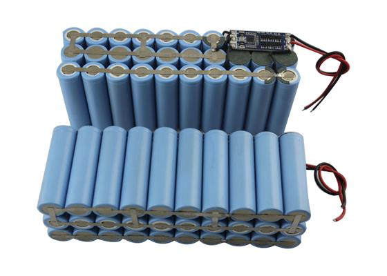 Custom 18650 Battery Packs And Modules Depend On Customer Requirement